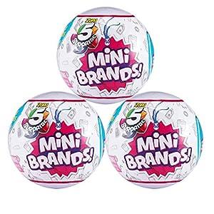 5-Surprise Mini Brands Collectible Capsule Ball by Zuru - 3 Ball Bundle - 518wKb97NIL - 5-Surprise Mini Brands Collectible Capsule Ball by Zuru – 3 Ball Bundle