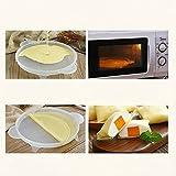 Crepe Maker, Crust and Waffel Maker, Non-stick plastic Crepe Tray