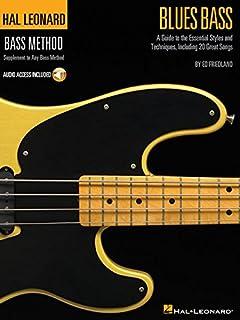 Hal Leonard Blues Bass Method Tab + Accès audio (Hal Leonard Bass Method) (0634089358)   Amazon Products