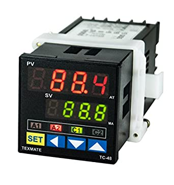 Texmate TC-48 Advanced Temperature PID Controller (100 - 230 VAC