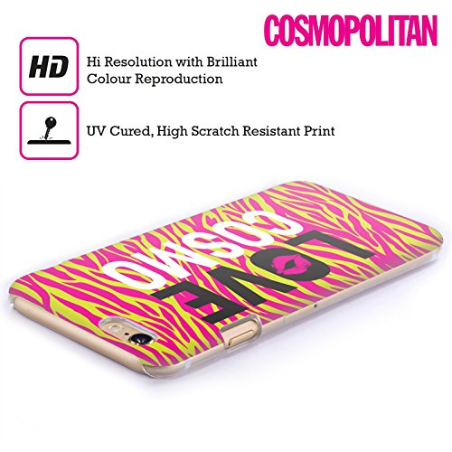 Official Cosmopolitan Zebra Love Cosmo Hard Back Case for Apple iPhone 6 / 6s