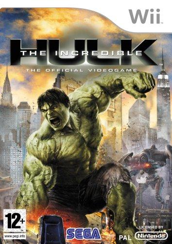 Sega The Incredible Hulk (Wii) (Wii The Incredible Hulk)