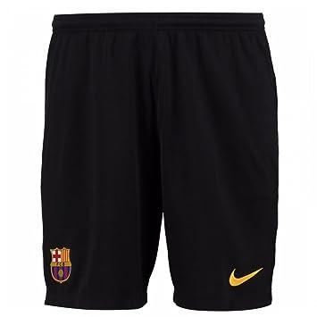 Nike 2017-2018 Barcelona Home Goalkeeper Shorts (Black)  Amazon.co ... 95ee8429464