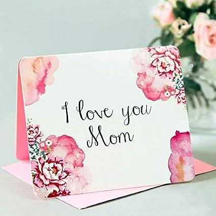 1 tarjeta de felicitación para el día de la madre con sobre ...