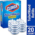 Clorox ToiletWand Disinfecting Refills, Disposable Wand Heads - 20 Count