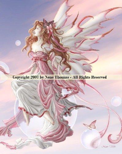 Ceramic Sensations Tile ~ DAYBREAK ~ Nene Thomas Fantasy Fairy Art - -
