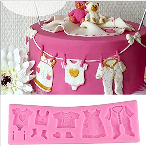 Romote Molde de Silicona para Fondant, Encaje para Magdalenas, decoración de Pasteles, Pasteles