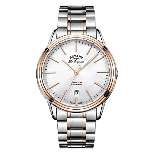 Mens Rotary Swiss Made Tradition Automatic Watch GB90162/59