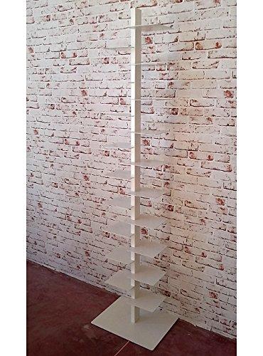 Libreria verticale a colonna Tower H200 19 mensole porta libri in ...