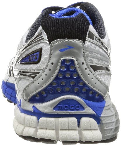 c8b495db68286 Brooks Men s Adrenaline GTS 14 Running Shoes 1101581D177  White Electric Silver 6.5 UK