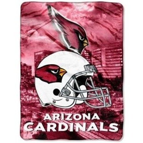 NFL Arizona Cardinals Royal Plush Blanket 60''x80'' NEW