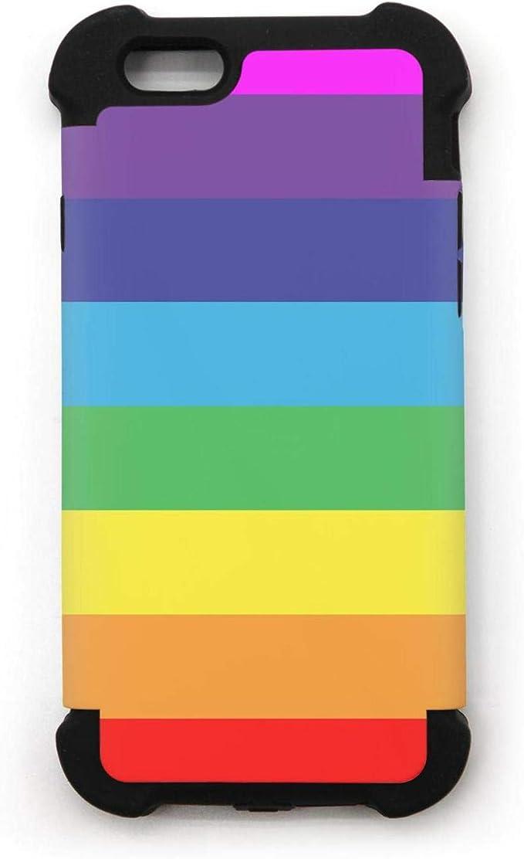 Multicolore Rayures Arc-en-Ciel iPhone6 Plus/Iphone6s Plus Coque ...