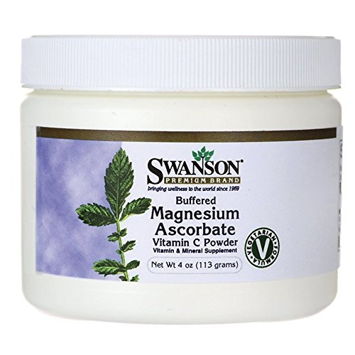 Swanson Buffered Magnesium Ascorbate Vitamin