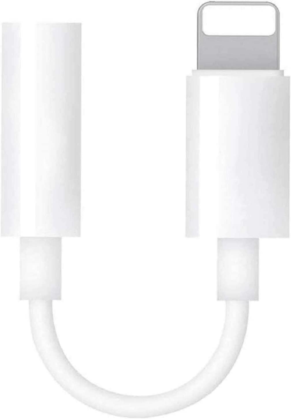 [Apple MFi Certified] 3.5mm Headphone Adapter for iPhone,Lightning to Headphone Jack Adapter aux iPhone Dongle Earphone Jack Connector,Compatible with iPhone 7/7 Plus/8/8 Plus/X/Xs/Xs Max/XR/11, iPad