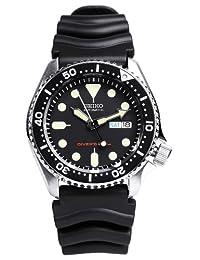 SEIKO Black Mens model SKX007KC overseas reimportation watch (japan import)