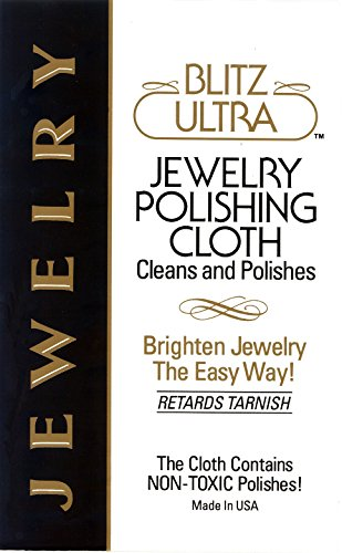 Blitz Silver Care Cloth - Blitz Jewelry Polishing Cloth 93117