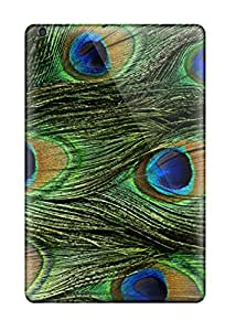 RgL9380xqqg Carolcase168 Awesome Cases Covers Compatible With Ipad Mini - Peacock Feathers