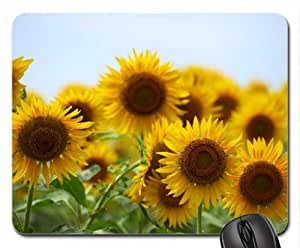 Sunflowers Mouse Pad, Mousepad (Flowers Mouse Pad)