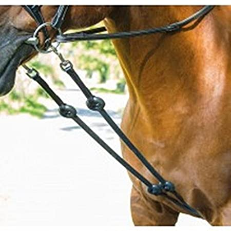 Shires BLENHEIM BUNGEE MARTINGALE HORSE EQUESTRIAN TACK RIDING
