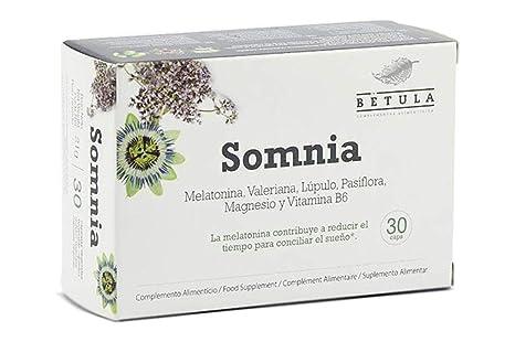 Betula - Somnia - Melatonina, Valeriana, Lúpulo, Pasiflora ...