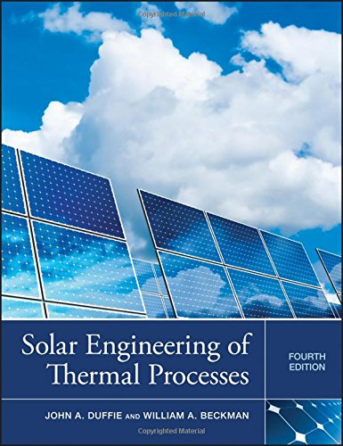 (Solar Engineering of Thermal Processes)