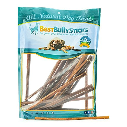 100 natural 12 inch thin bully sticks by best bully. Black Bedroom Furniture Sets. Home Design Ideas