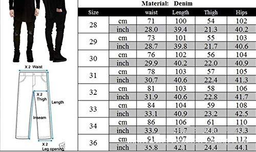 Abiti Basic Blau Comode Slim Casual Fashion Pantaloni Strech Denim Da Fit Taglie Hx Con Fori Strappati Aderenti Uomo Distrutti Jeans Vintage HqFSwR7