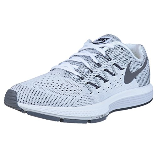 Nike Wmns Air Zoom Vomero 10 -  para hombre WHITE/BLACK-PURE PLATINUM-DARK GREY