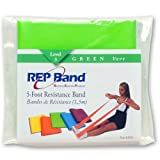 Magister Resistive Exercise – Rep Band Latex-Free 5 FOOT PRE-CUT LENGTHS GREEN (LEVEL 3) Review