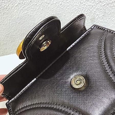 dc947c58fb16 Gentle C GC Marment Style 443497 Small matelassé Shoulder Bag Pocketbooks  for Women-Small Black