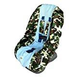 Patricia Ann Designs Camo Toddler Carseat Cover