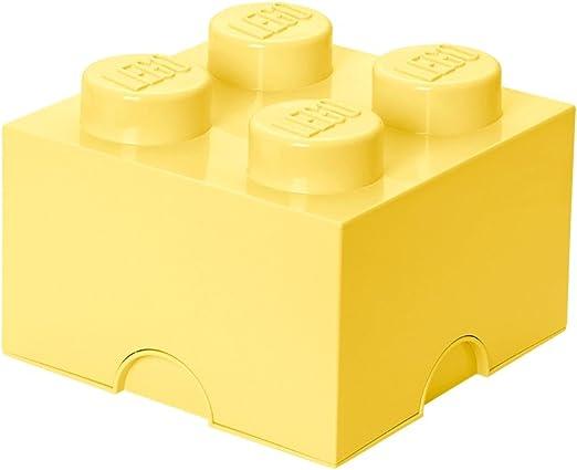 LEGO - Caja de almacenaje 4, color amarillo claro: Room Copenhagen ...