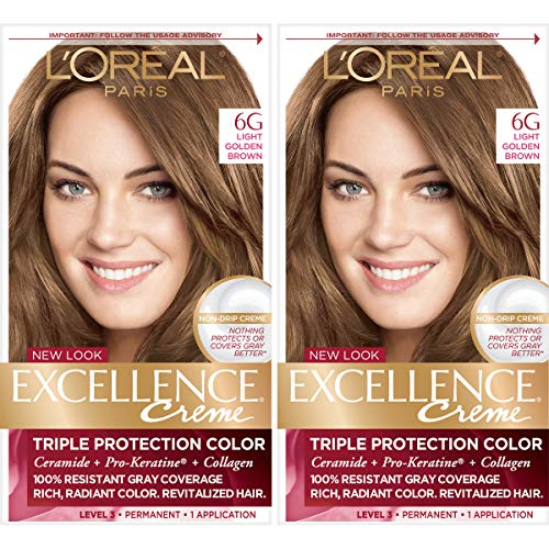 LOreal Paris Excellence Permanent Golden
