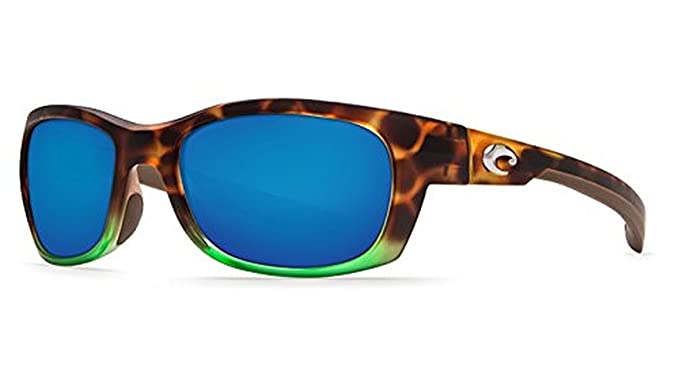 8b85de268c4 Costa Del Mar Trevally GT 77 Matte Tortuga Fade Sunglasses for Mens - Size  400G (Blue Mirror Lens)  Amazon.co.uk  Clothing