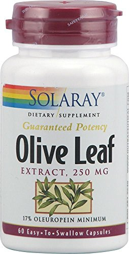 Solaray – Olive Leaf Extract, 250 mg, 60 capsules