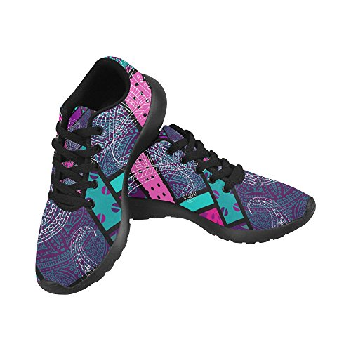 On Geometric US InterestPrint Sneakers Shoes Paisley Pattern Size Running 6 Athletic 15 Print Casual Lightweight Women's with qd4XHd