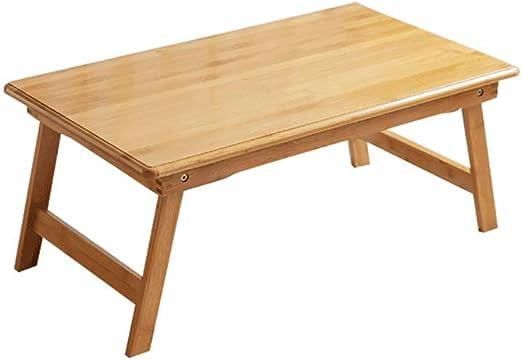 Desks Escritorio de bambú, Tablero de Escritura, computadora, Mesa ...