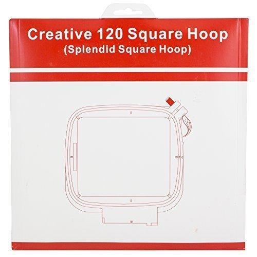 Sew Tech Embroidery Hoop Viking Splendid Square Hoop 120mm x 120mm Hoop by Sew Tech