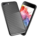 Besiva for iPhone 8 Plus Case, iPhone 7 Plus Case Ultra Thin & Light Slim Cover Case with Stripe Texture Flexible Anti-Scratch Protective Case for Apple iPhone 7 Plus, iPhone 8 Plus