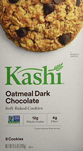 Kashi Oatmeal Cookies (Kashi Tlc Oatmeal Dark Chocolate Soft-Baked Cookies, 8.5 oz)