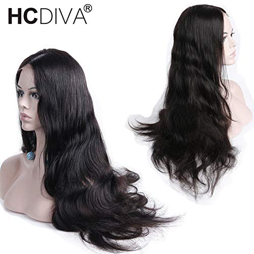 360 Lace Frontal Wig Pre Plucked with Baby Hair Brazilian Body Wave Lace Front Wig Pre Plucked Lace Front Wigs for Black Women 130% Density (24 inch) from HCDIVA