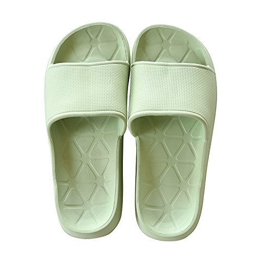 42 41 Bathroom skid proof green slippers qw01IF0P