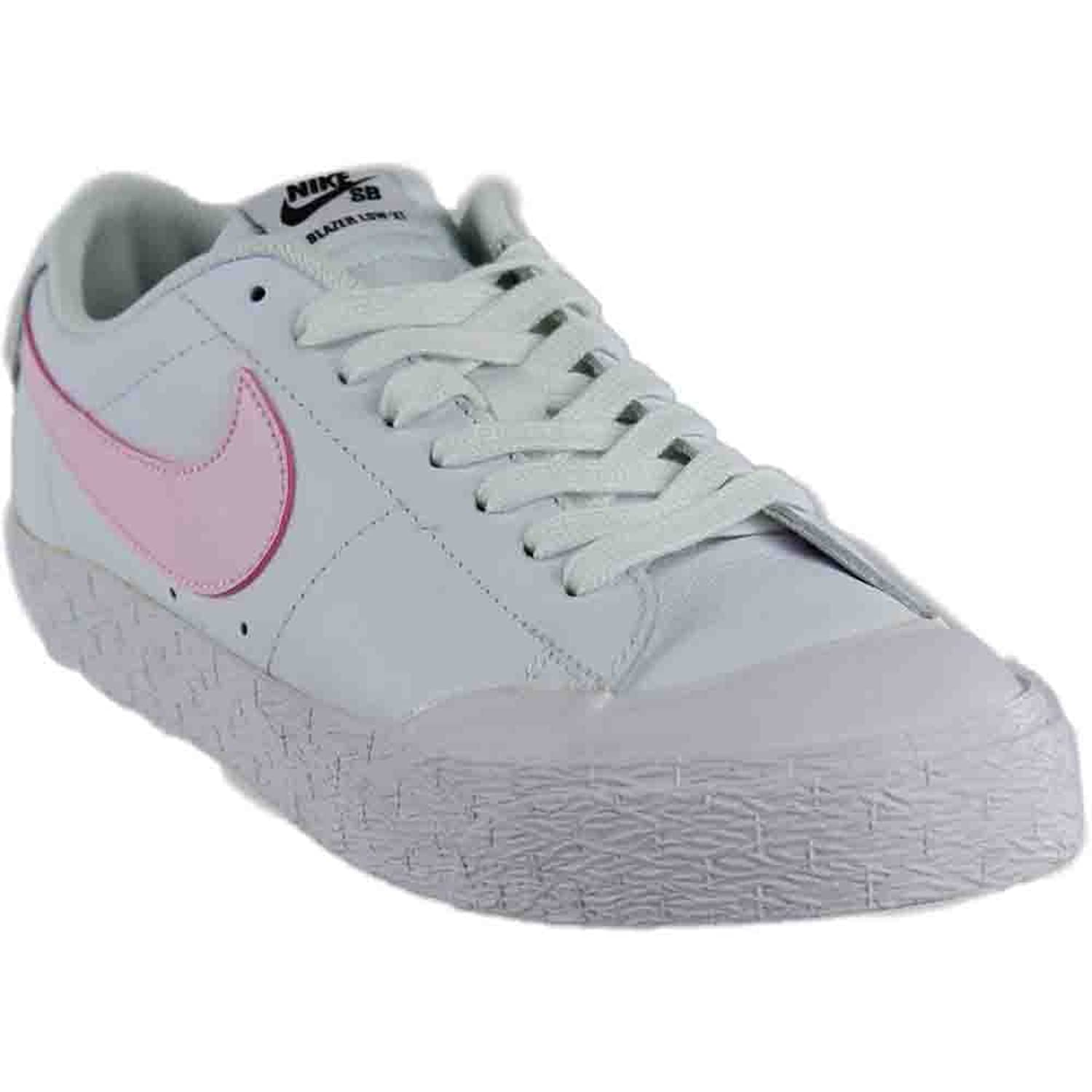 new products 2905d 8a302 Amazon.com  Nike Mens Blazer Zoom Low XT WhitePrism Pink Black Size 10.5   Fashion Sneakers