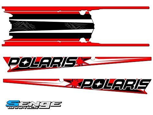 Senge Graphics 2015-2017 Polaris Axys RMK Savage Red 155 Inch Tunnel Wrap Kit Senge Graphics Inc.