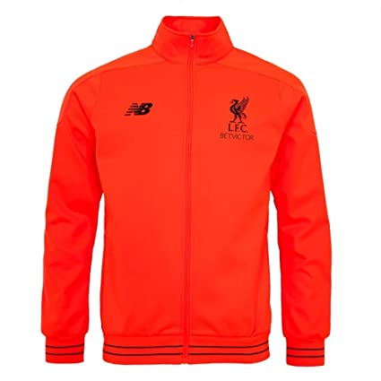 4b478fd4a12 New Balance 2016-2017 Liverpool Elite Training Walkout Jacket (Red) (L)