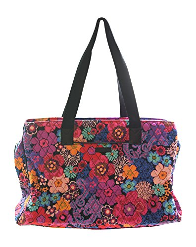 Vera Bradley Triple Compartment Travel Bag, Floral Fiesta