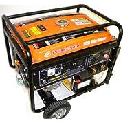 Powerland PDW-210E, 4000 Running Watts/5000 Starting Watts, Gas Powered Portable Generator, with 210 Amp Welder...