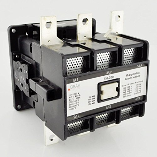Direct Replacement for EH-300 ABB EH Series Contactor 300A 3P 120V Coil comes with 2 year warranty EH300 EH-300-30-22AF by ABB