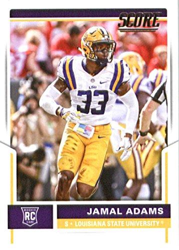 2017 Score #387 Jamal Adams LSU Tigers Rookie Football Card New York Jets 1st Round Pick #6