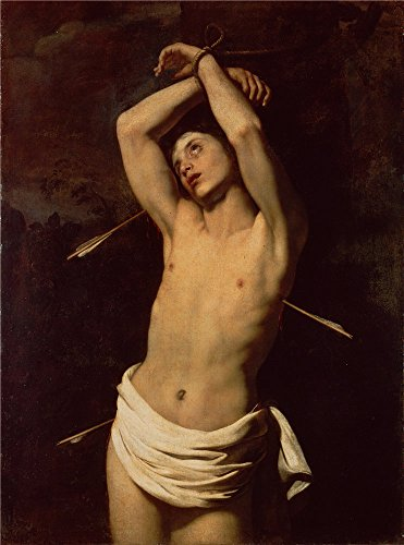 Oil Painting 'Renieri, Niccolo (Regnier, Nicolas)_1620_St Sebastian' 30 x 40 inch / 76 x 103 cm , on High Definition HD canvas prints is for Gifts And Gym, Laundry Room - Repair Chicago Sunglass